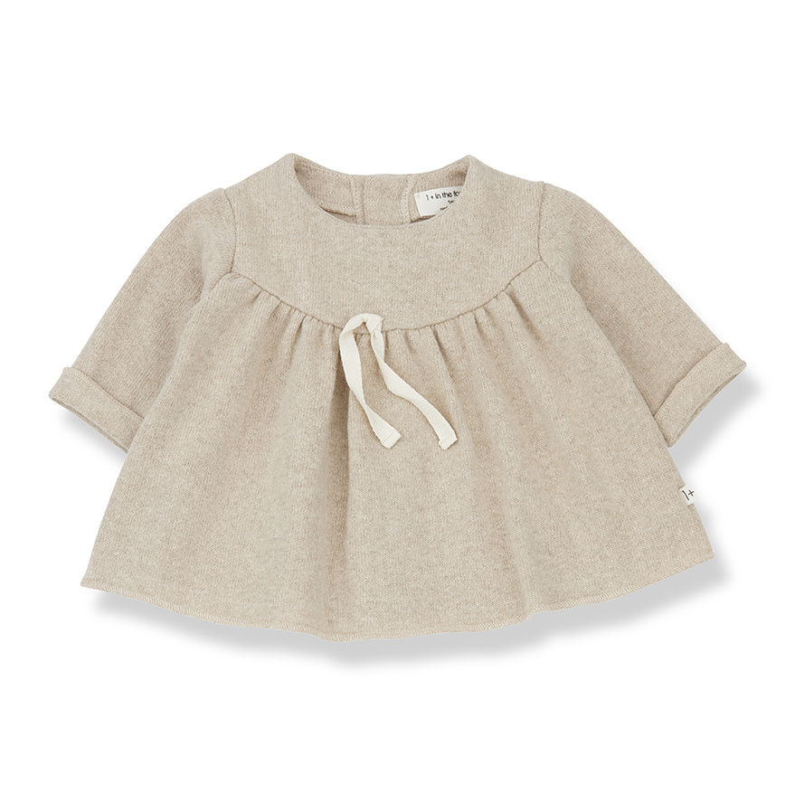 1+InTheFamily Mirelle Dress Cream