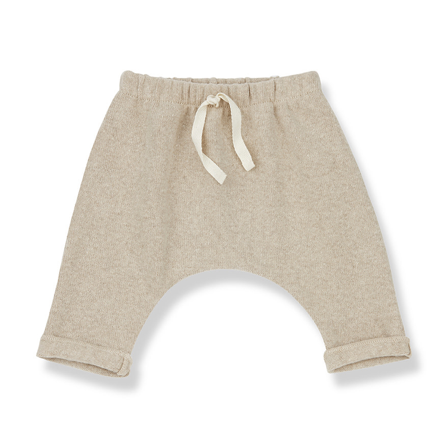 1+InTheFamily Adien Baggy Pants Cream