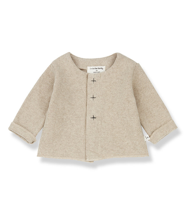 1+InTheFamily Jolie Jacket Cream