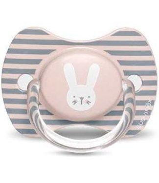Suavinex Speen Hygge Silicone 6-18m Pink Rabbits