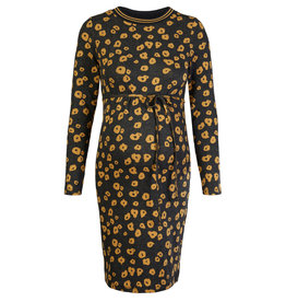 Supermom Dress Poppy Long Sleeve Honey Mustard
