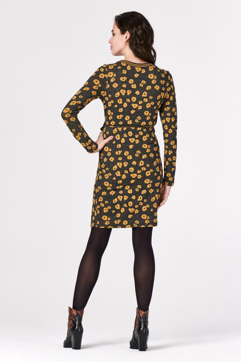 Supermom Dress Poppy Long Sleeve Honey Mustard