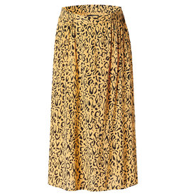 Supermom Skirt Leopard Honey Mustard