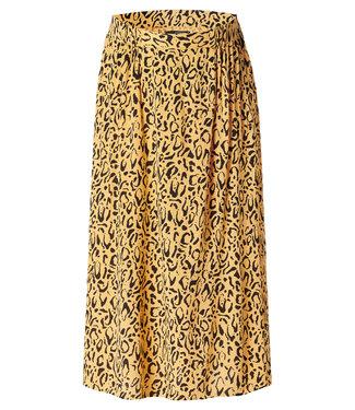 Supermom Skirt Leopard Honey Mustard