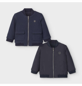 Mayoral Reversible Bomber Jacket Navy
