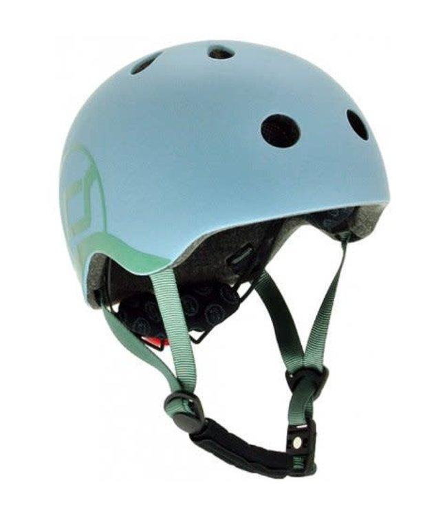 Scoot and Ride Helmet XS Steel