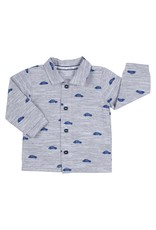Gymp Shirt Blue Beatle Print