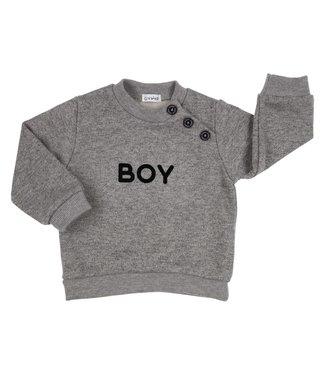 Gymp Grey Sweater 'Boy'