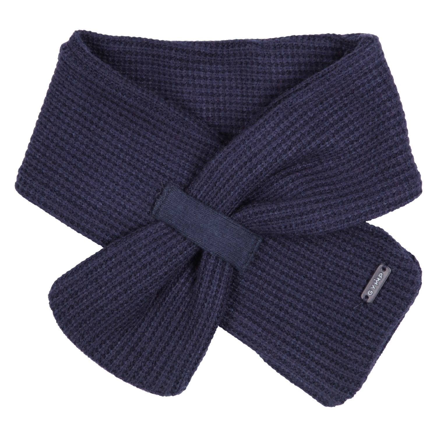 Gymp Knitted Scarf Navy