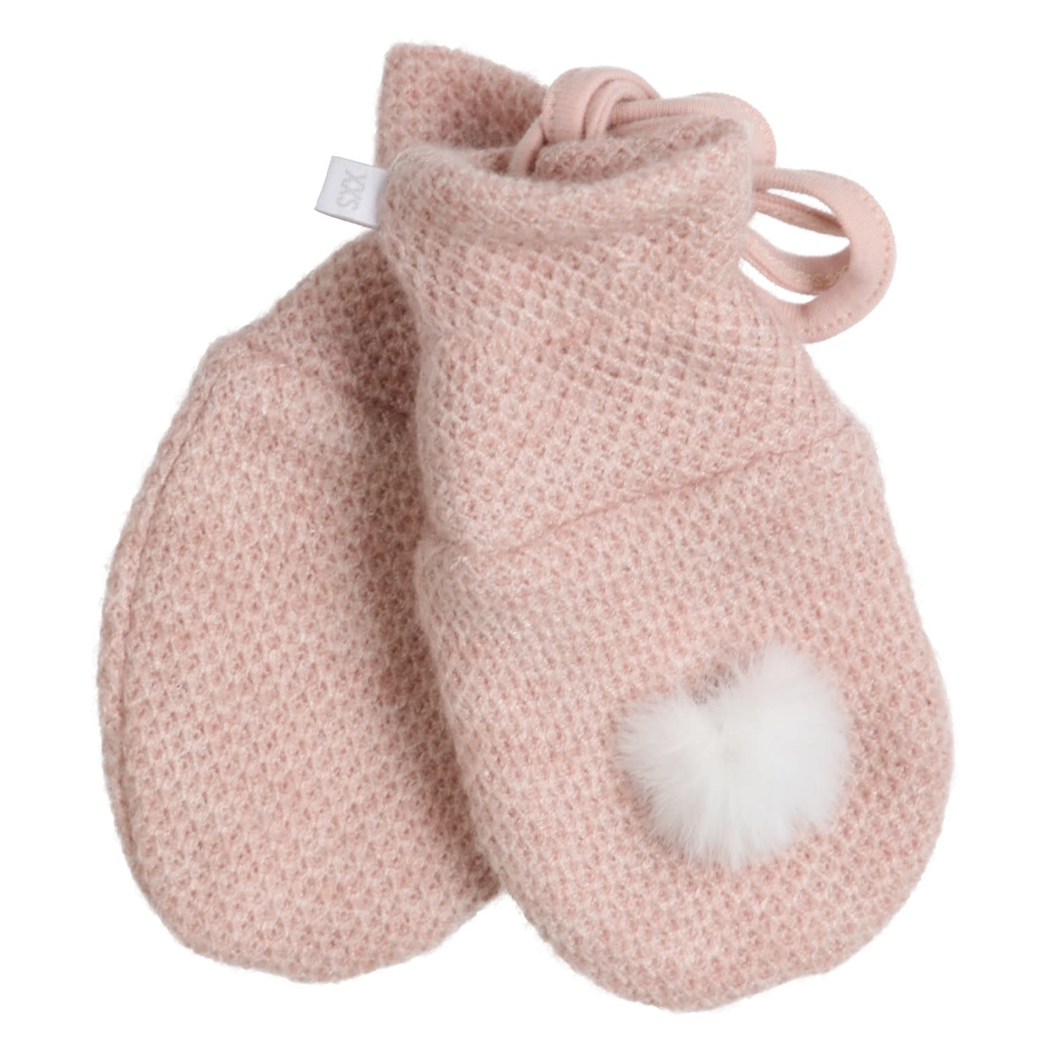 Gymp Knitted Mittens Vieux Rose