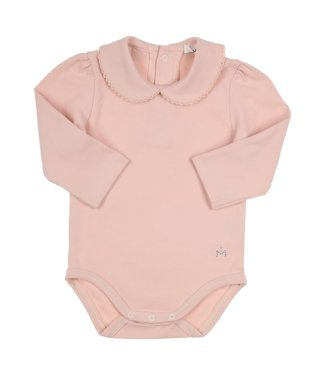 Gymp Body With Collar Vieux Rose