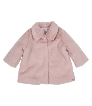 Gymp Coat Fake Fur Vieux Rose