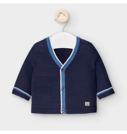 Mayoral V-neck Cardigan Navy