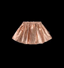 House Of Jamie Metalic Skirt Rose-Gold