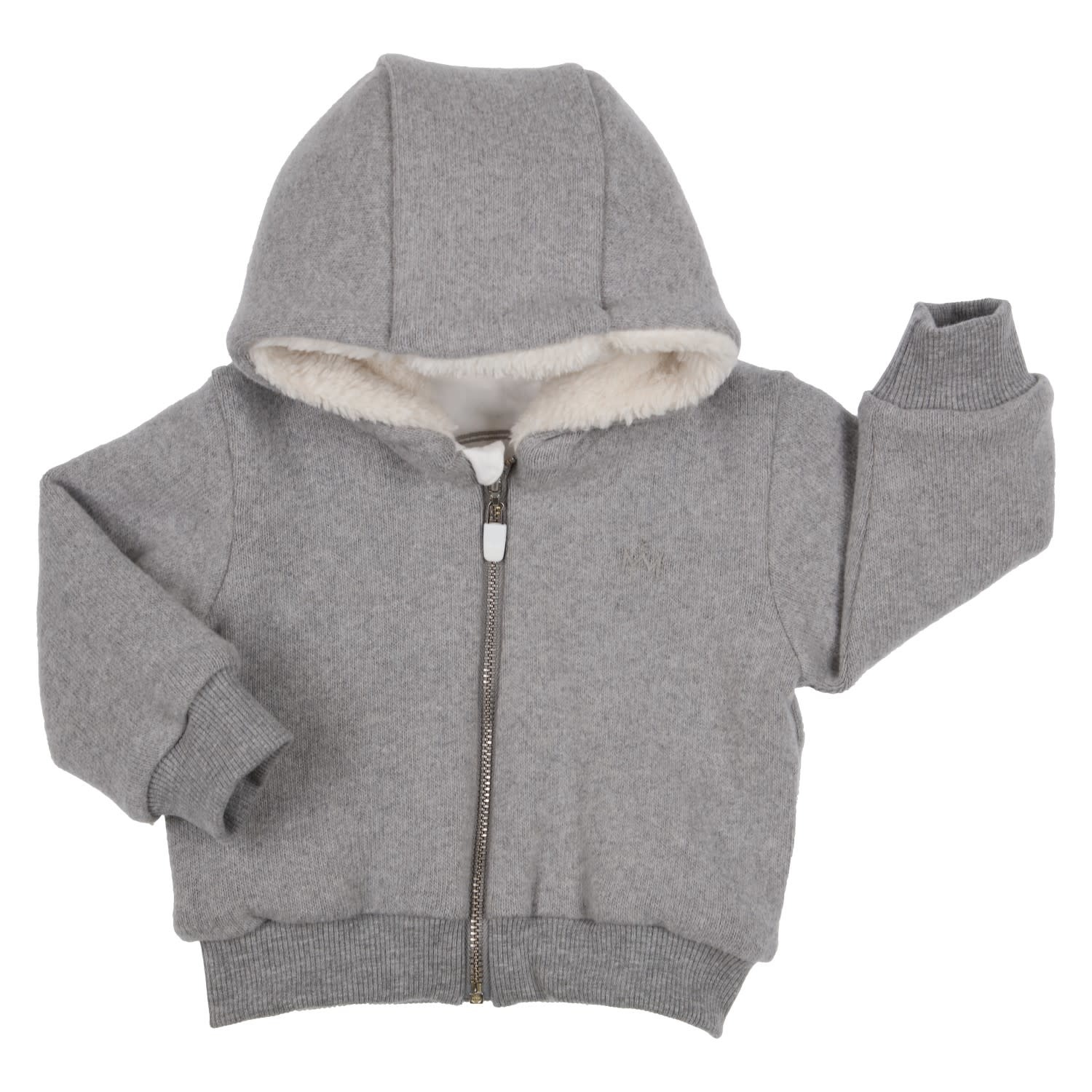 Gymp Knitted Grey Cardigan Teddy