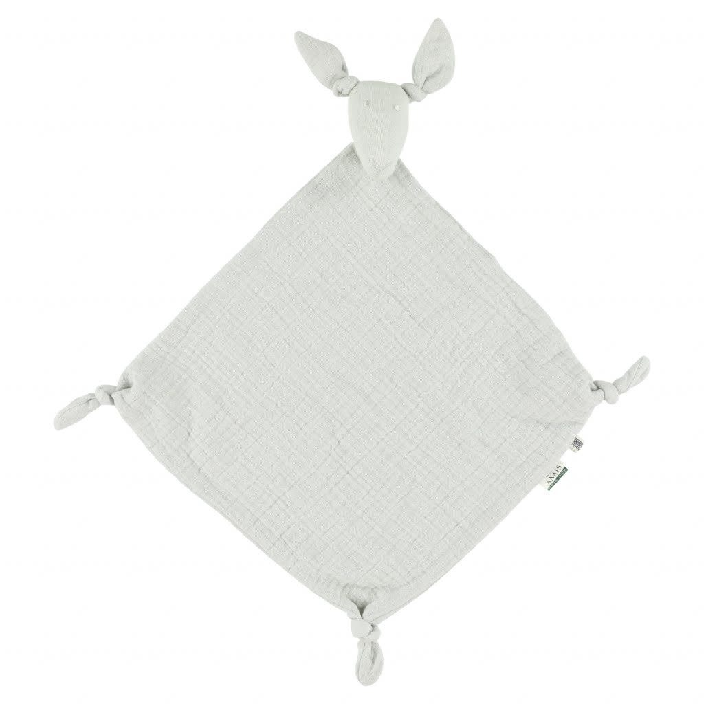 Les Rêves d'Anais Kangaroo Muslin Cloth Bliss Grey