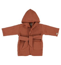 Les Rêves d'Anais Bathrobe 1-2Year Bliss Rust