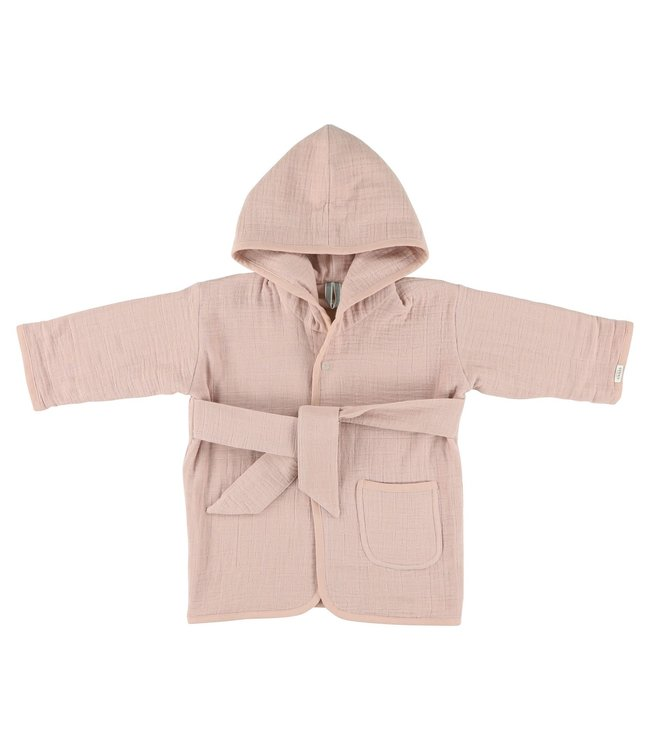 Les Rêves d'Anais Bathrobe 1-2Year Bliss Rose