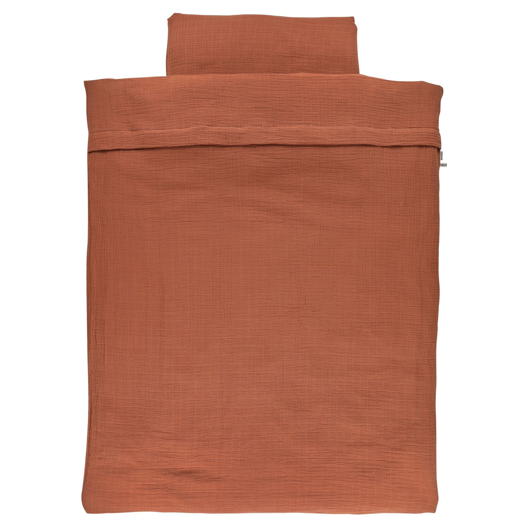 Les Rêves d'Anais Cot Duvet Cover Bliss Rust