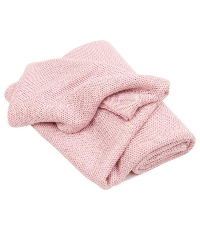 Cotton & Sweets Bamboo Swaddle Blanket Powder Pink