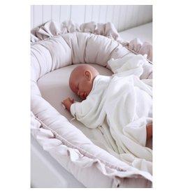 Cotton & Sweets Bamboo Swaddle Blanket Ecru