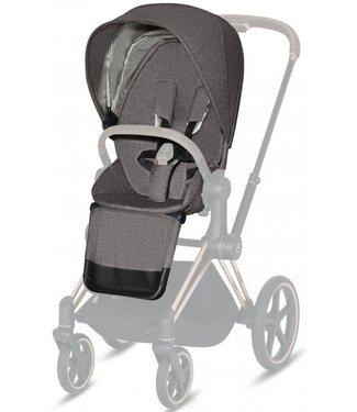 Cybex Priam Seat Pack Manhattan Grey Plus ( Mid Grey )