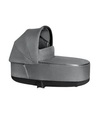 Cybex Priam Lux Carrycot Manhattan Grey PLus ( Mid Grey )