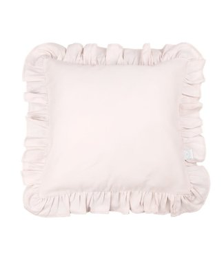 Cotton & Sweets Simply Glamour Pillow With Ruffles Powder Pink