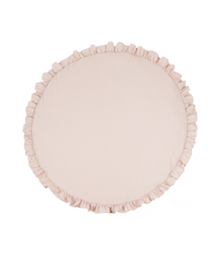 Cotton & Sweets Basic Playmat With Ruffles Powder Pink