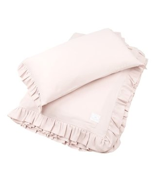 Cotton & Sweets Simply Glamour Bed Linen Junior With Ruffles Powder Pink