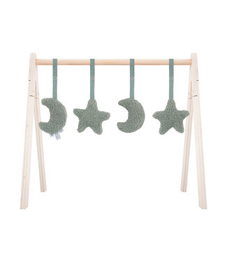 Jollein Babygym Toys Moon Ash Green