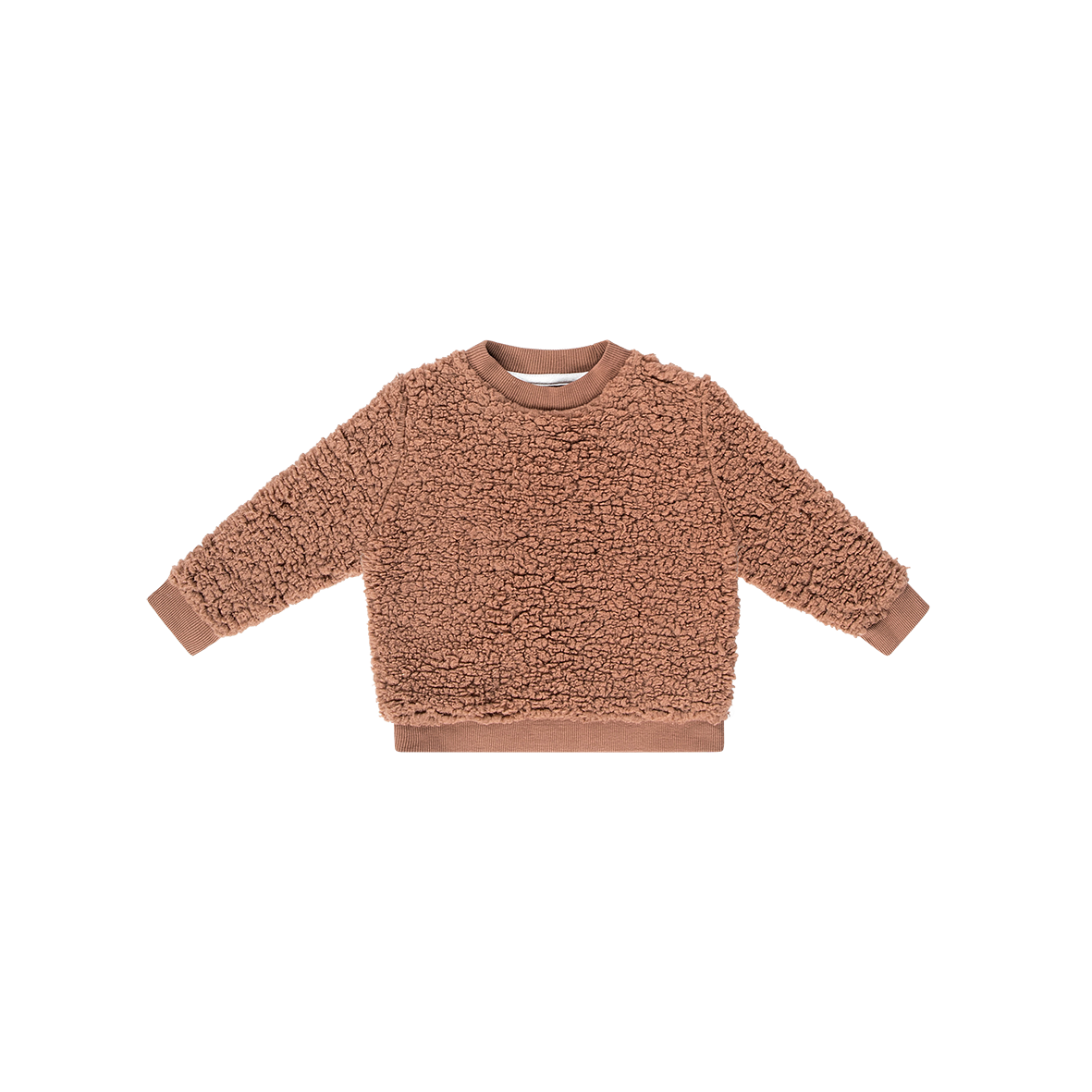 House Of Jamie Teddie Crewneck Sweater Hazel