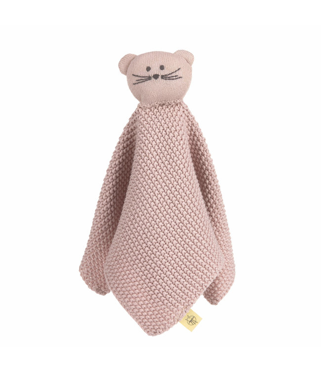 Lassig Knitted Baby Comforter Little Chums Mouse