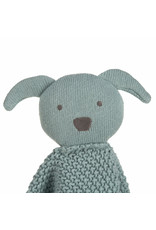 Lassig Knitted Baby Comforter Little Chums Dog