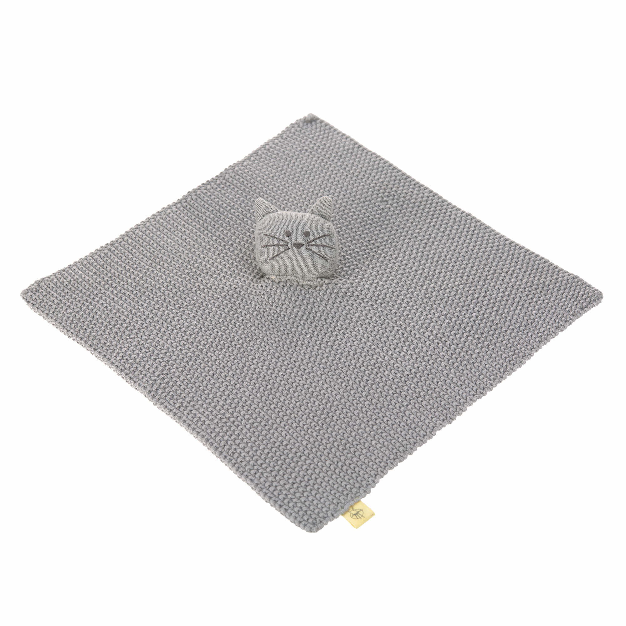 Lassig Knitted Baby Comforter Little Chums Cat