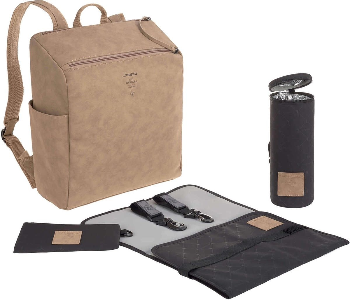 Lassig Ten Backpack Camel