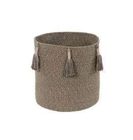 Lorena Canals Basket Woody Soil Brown 30 x 30 cm