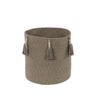 Lorena Canals Basket Woody Soil Brown 30 x 30 cm