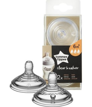 Tommee Tippee Closer To Nature Spenen Flux 3 Fast 6m