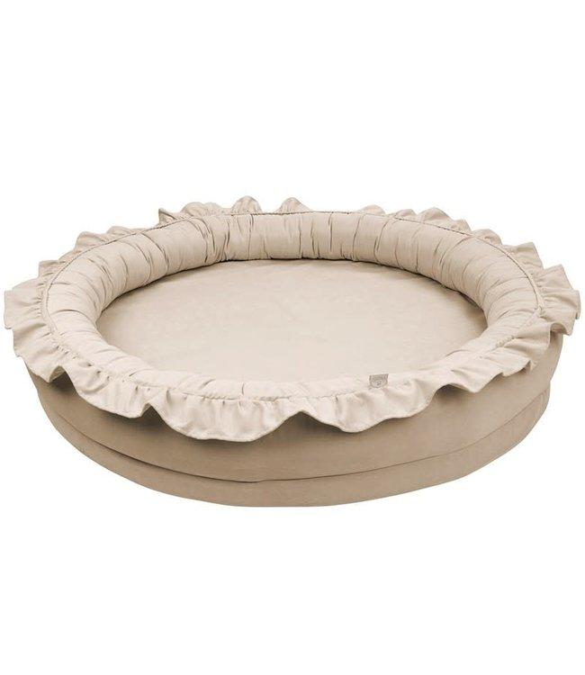 Cotton & Sweets Basic Junior Nest Dark Beige