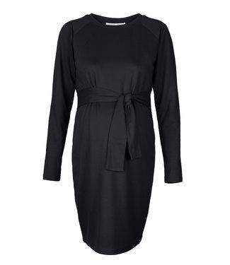 Noppies Maternity Dress Nurs Sydney Black