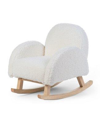 Childhome Schommelstoel Voor Kinderen Teddy Wit