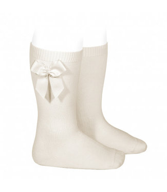Condor Knee-High Socks With Bow Lino