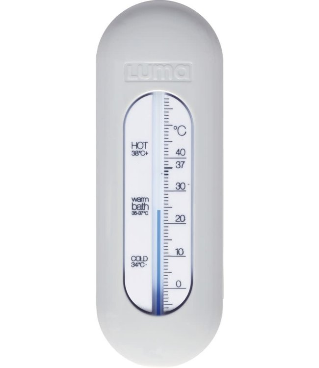 Luma Badthermometer Light Grey