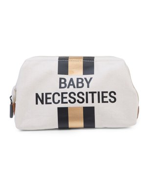 Childhome Baby Necessities Off White Stripes Black-Gold