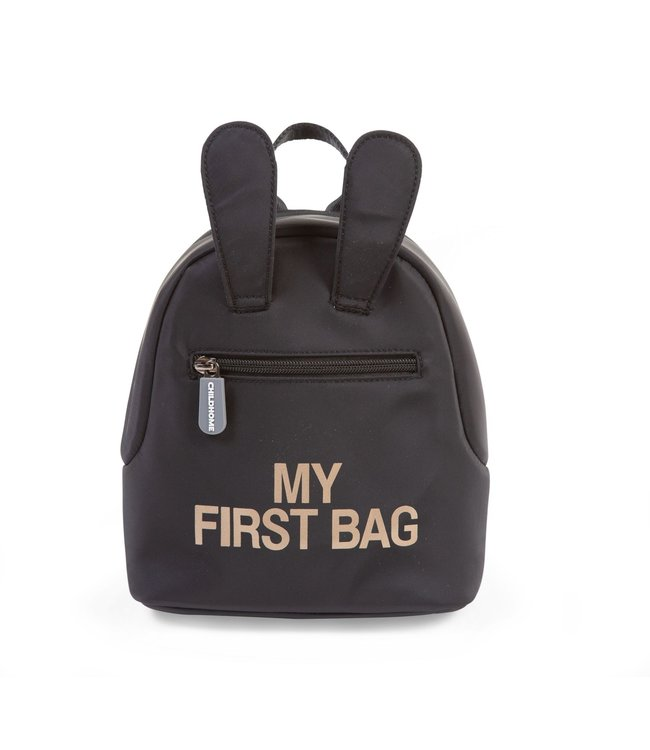 Childhome Kids My First Bag Black