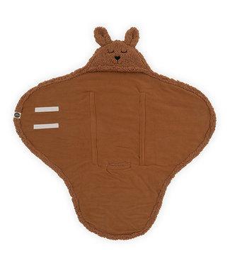 Jollein Wrap Blanket Bunny Caramel