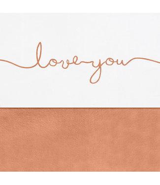 Jollein Laken Wieg 75 x 100cm Love You Caramel