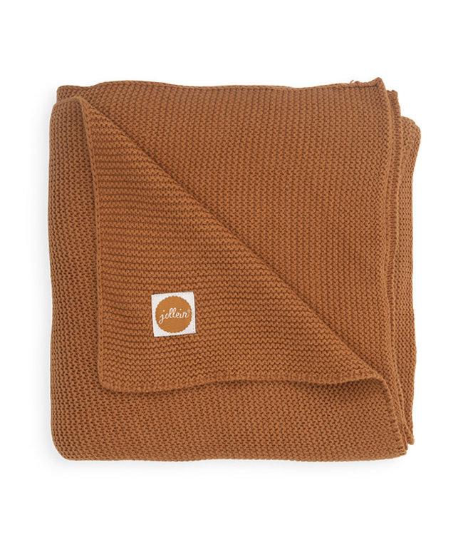 Jollein Deken 75 x 100cm Basic Knit Caramel