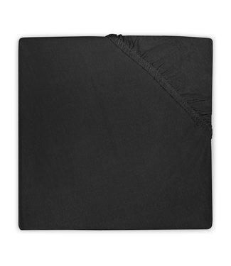 Hoeslaken Boxmatras Jersey Black